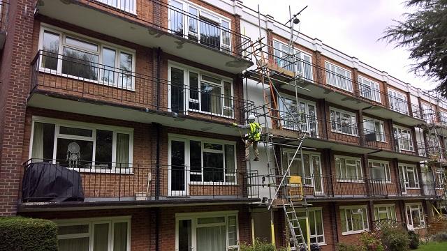 Concrete balcony repairs - MCP - Commercial Building Consultants