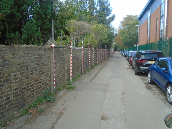 """Featured image for """"Listed boundary wall reconstruction"""""""